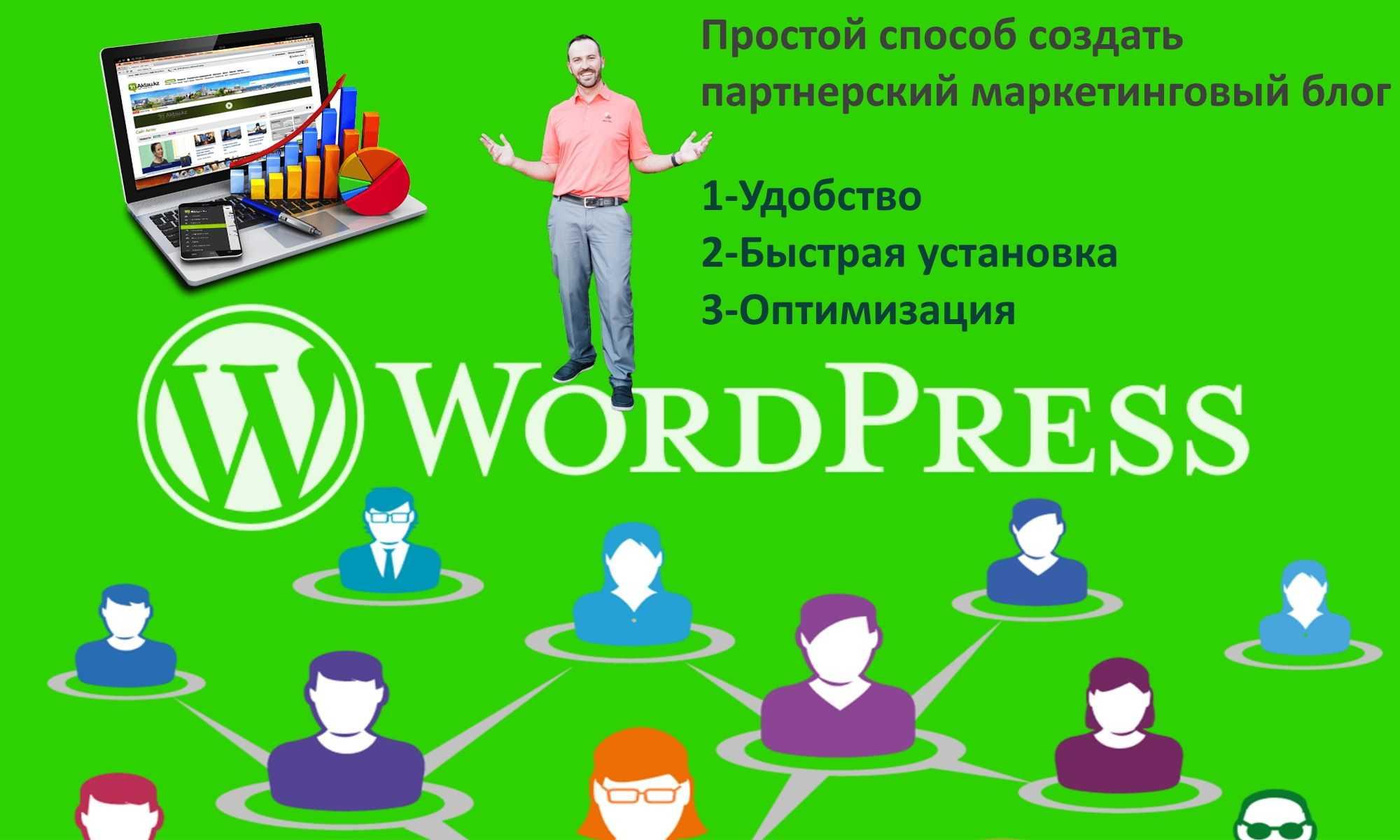 Простой способ создать партнерский маркетинговый блог