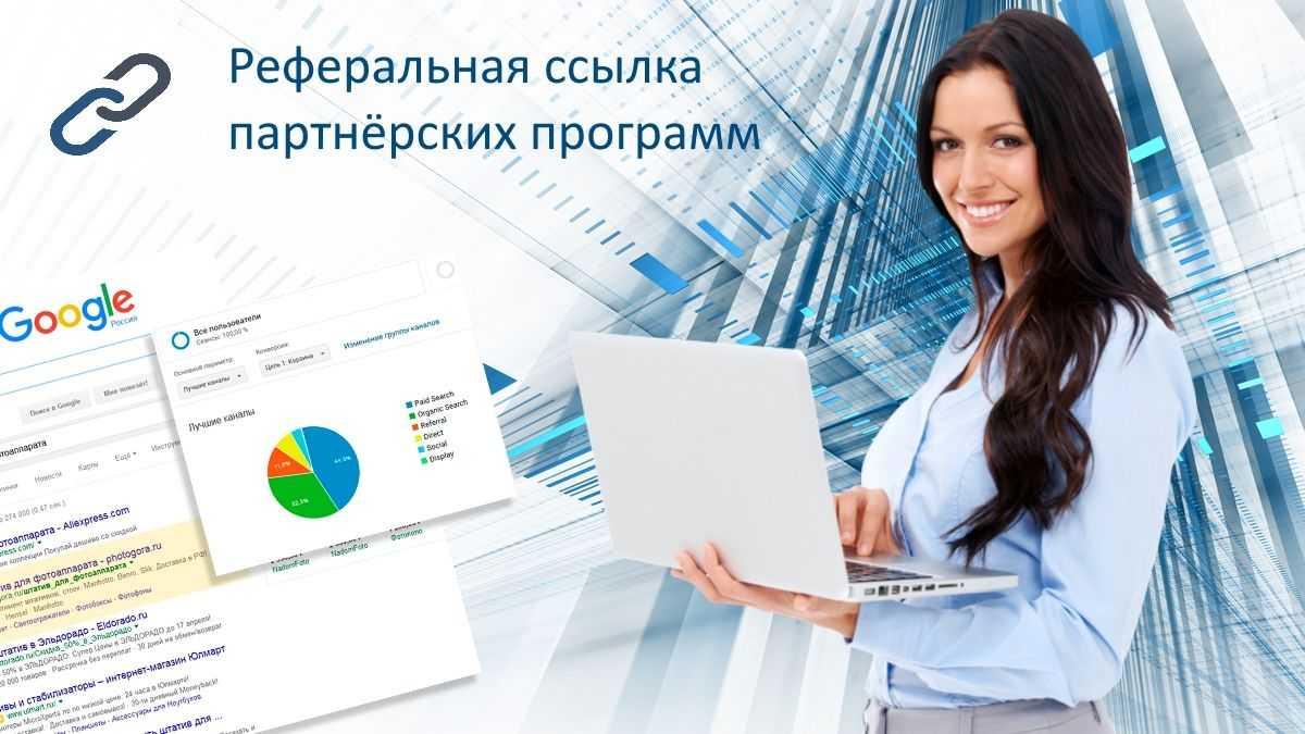 Реферальная ссылка партнёрских программ